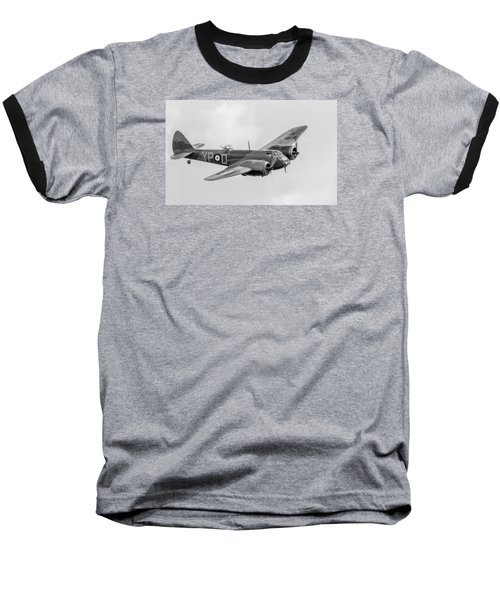 Blenheim Mk I Black And White Version Baseball T-Shirt