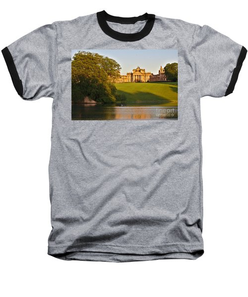 Blenheim Palace And Lake Baseball T-Shirt