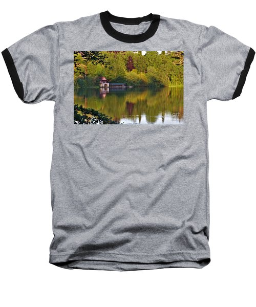 Blenheim Palace Boathouse 2 Baseball T-Shirt
