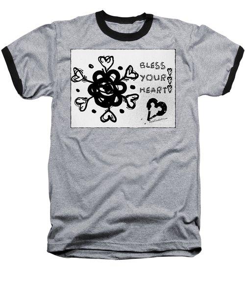 Bless Your Heart Baseball T-Shirt