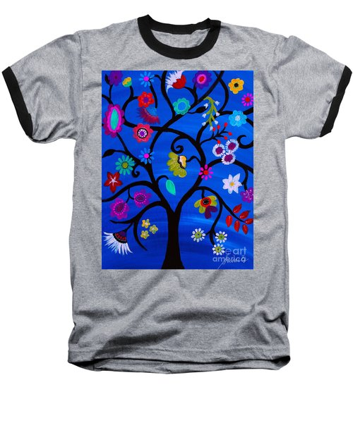 Blessed Tree Of Life Baseball T-Shirt