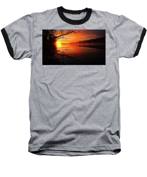 Blind River Sunrise Baseball T-Shirt