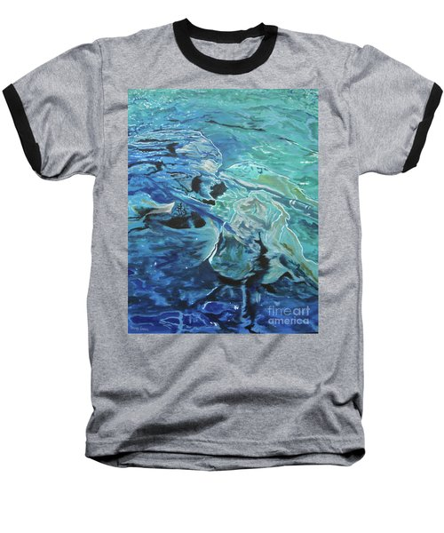 Baseball T-Shirt featuring the painting Bliss by Stuart Engel