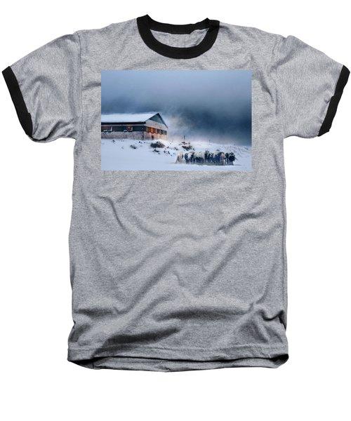 Blizzard Bliss Baseball T-Shirt