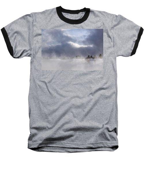 Blizzard In Bryce Canyon Baseball T-Shirt