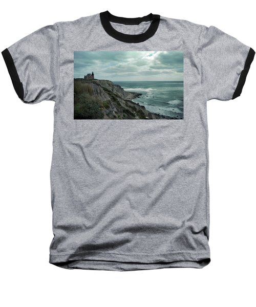 Block Island South East Lighthouse Baseball T-Shirt
