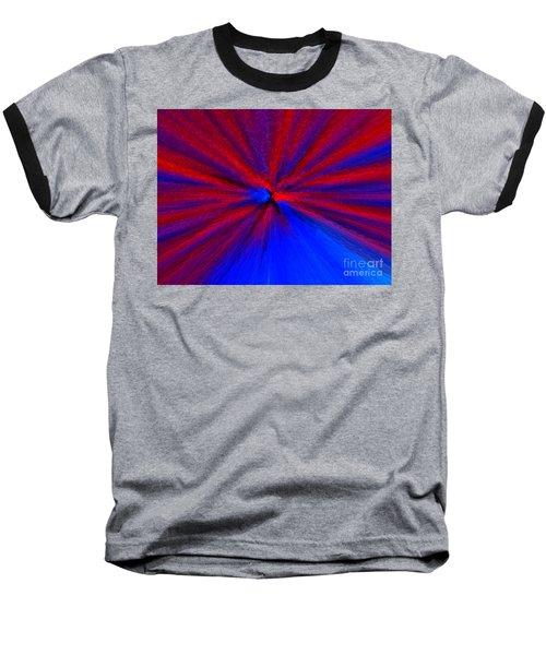 Block Zoom Baseball T-Shirt by Trena Mara