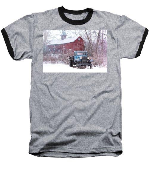Blocked Baseball T-Shirt by Nicki McManus
