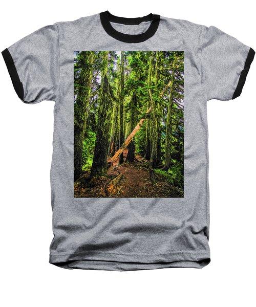 Blocked Trail Baseball T-Shirt