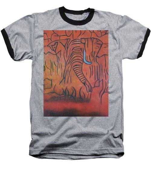 Blood Ivory Baseball T-Shirt