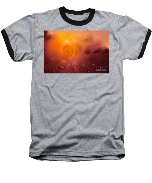 Baseball T-Shirt featuring the digital art Blood Sun by Patricia Schneider Mitchell