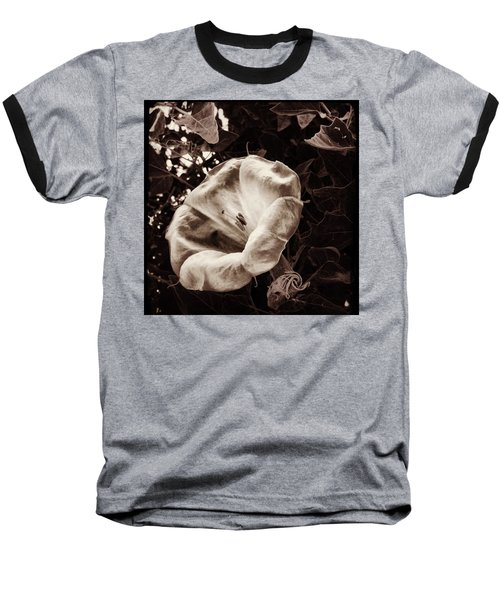 Bloom In Sepia Baseball T-Shirt