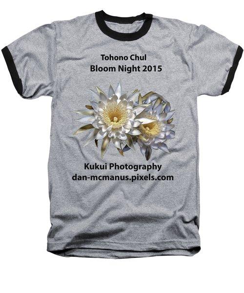 Bloom Night T Shirt Baseball T-Shirt