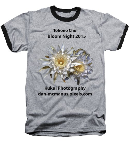 Bloom Night T Shirt Baseball T-Shirt