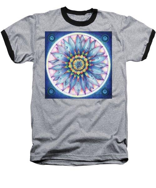 Bloom Of Counsciousness Baseball T-Shirt by Anna Ewa Miarczynska