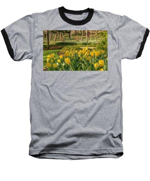 Bloomin Tulips Baseball T-Shirt