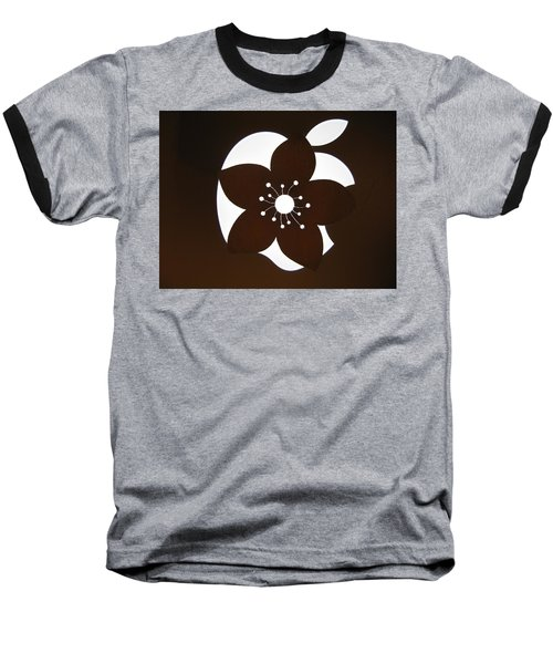 Blooming Apple Mac Baseball T-Shirt