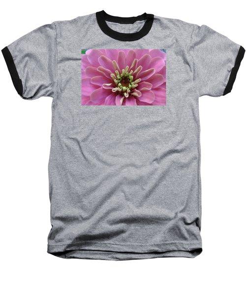 Blooming Flower Baseball T-Shirt