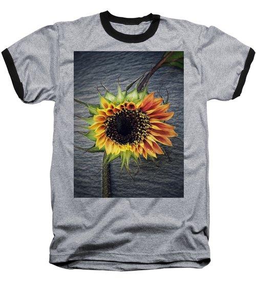 Blooming Baseball T-Shirt by Karen Stahlros