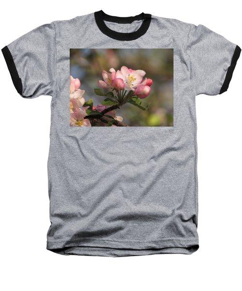 Blooming Baseball T-Shirt by Kimberly Mackowski