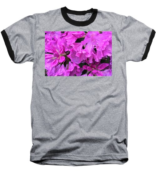 Blooming Rhododendron Baseball T-Shirt
