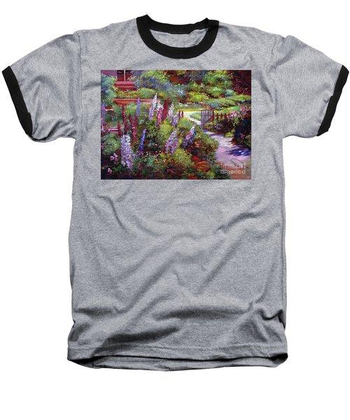 Blooming Splendor Baseball T-Shirt