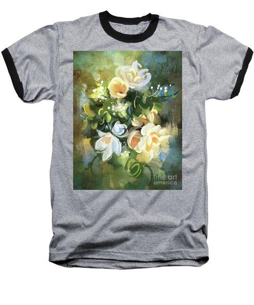 Blooming Baseball T-Shirt