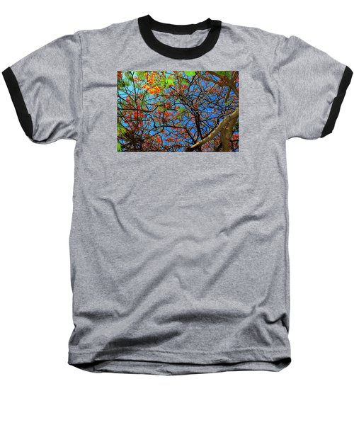 Blooming Tree Baseball T-Shirt