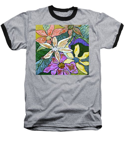 Blooms Baseball T-Shirt
