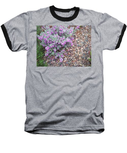 Baseball T-Shirt featuring the painting Blooms by Mordecai Colodner