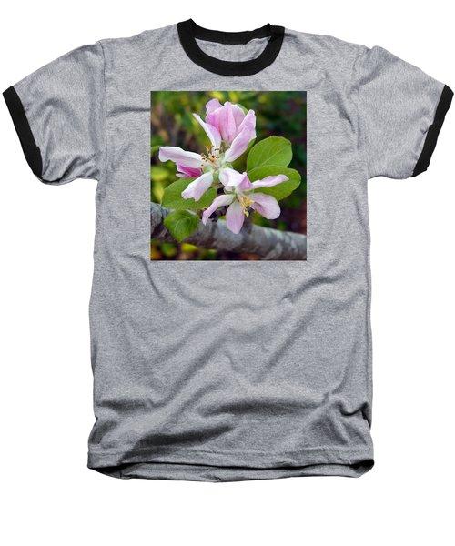 Blossom Duet Baseball T-Shirt by Carla Parris