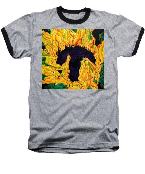 Blossomonious Yellow Trip Baseball T-Shirt