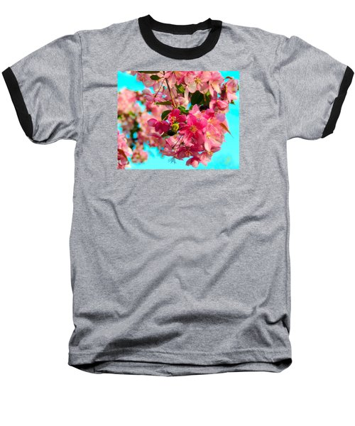 Blossoms And Bees Baseball T-Shirt