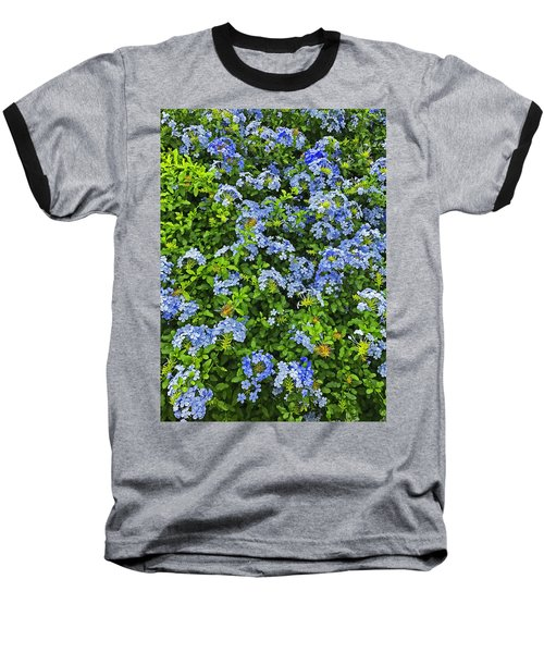 Blossoms Of Phlox Flowers Baseball T-Shirt