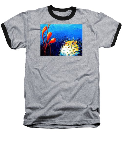 Blow Fish Baseball T-Shirt