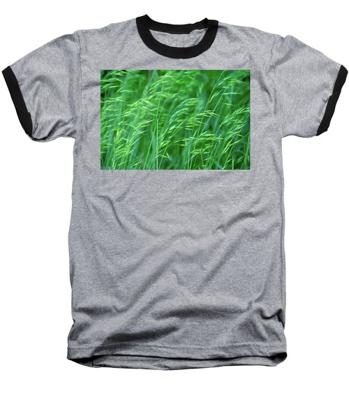Blowing Green Baseball T-Shirt