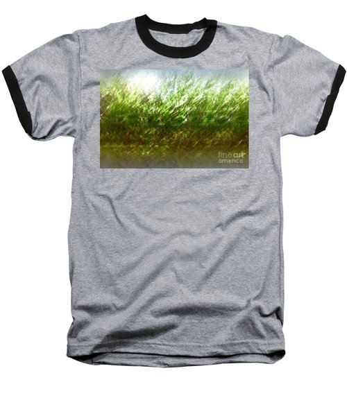 Baseball T-Shirt featuring the photograph Blowing In The Wind by John Krakora