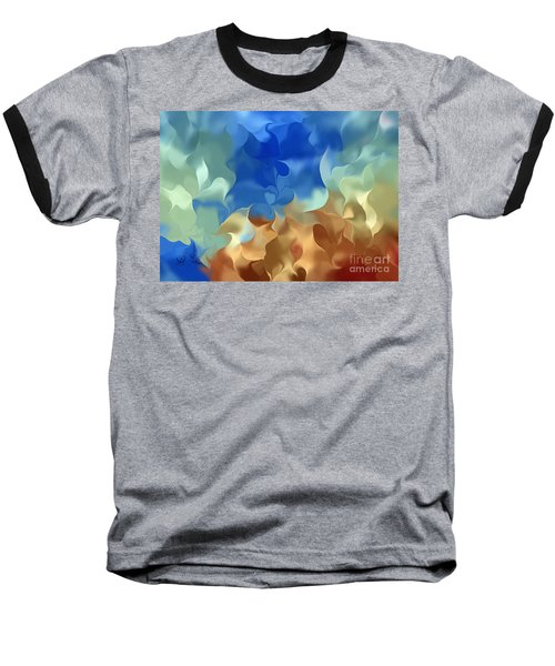 Blowing In The Wind Baseball T-Shirt
