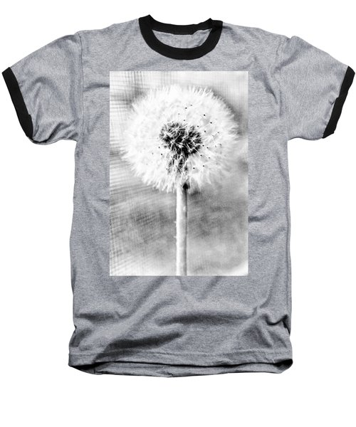 Blowing In The Wind Pencil Effect Baseball T-Shirt