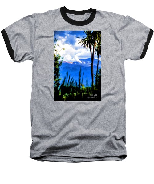 Baseball T-Shirt featuring the photograph Blowing Steam by Rick Bragan