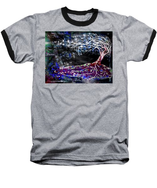 Blowing Tree Baseball T-Shirt