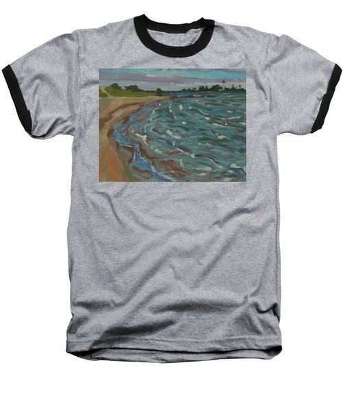 Blown Away Southampton Beach Baseball T-Shirt