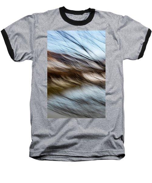 Blown By The Wind Baseball T-Shirt