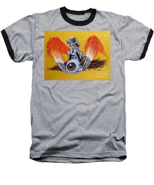 Blown Eyeball Baseball T-Shirt