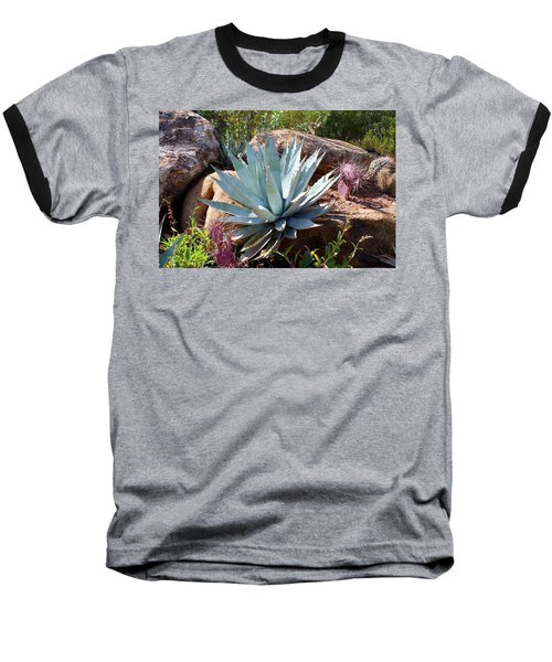 Baseball T-Shirt featuring the photograph Blue Agave by Kathryn Meyer