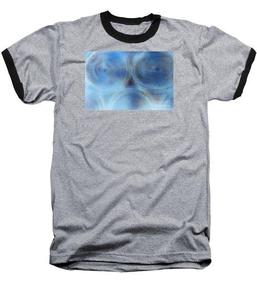 Blue Alien Baseball T-Shirt