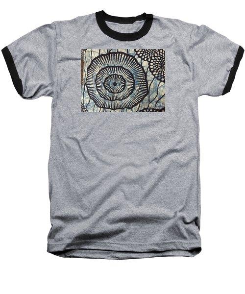 Blue And White Baseball T-Shirt