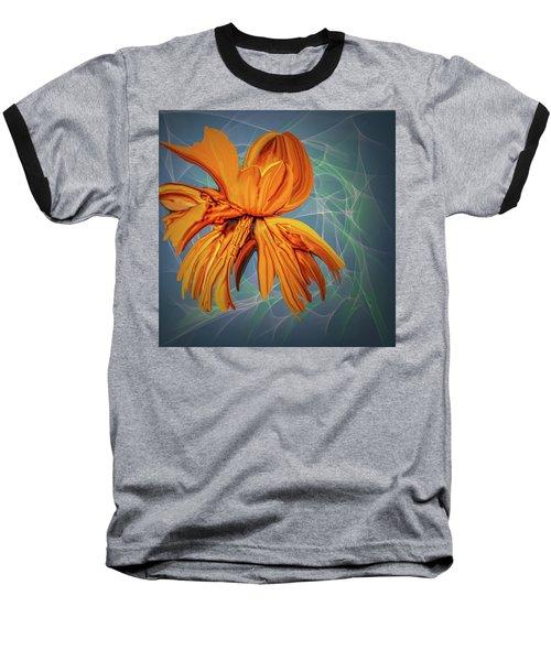Blue And Yellow #h6 Baseball T-Shirt