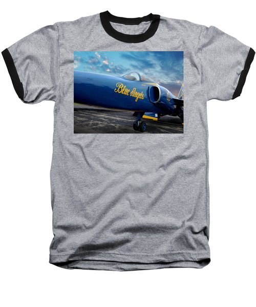 Blue Angels Grumman F11 Baseball T-Shirt