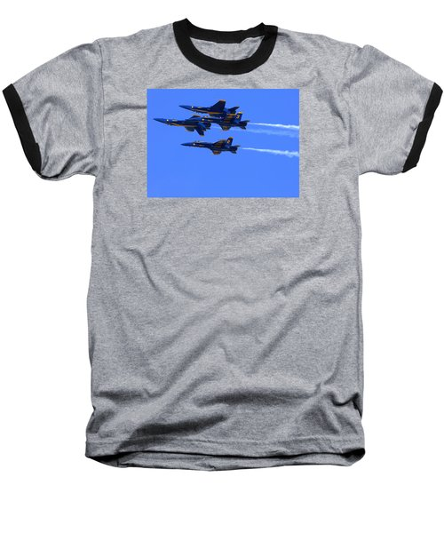 Blue Angels Perform Over San Francisco Bay Baseball T-Shirt